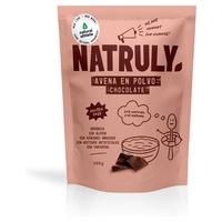 Chocolate powder oatmeal