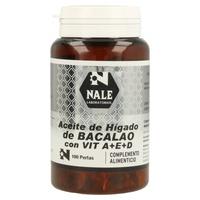 Aceite de Higado de Bacalao y Vitamina A,E,D