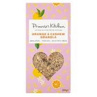 Granola Ecológica con Anacardos y Naranja
