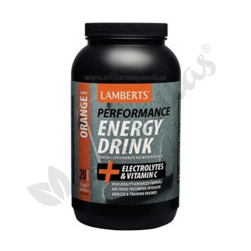 Bebida Energética (sabor Naranja) 1 kg de Lamberts