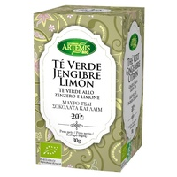 Te verde jengibre + limón bio