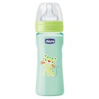Unisex KOLOROWA butelka Wellness 250 ml silikonowa o średnim przepływie 2m +