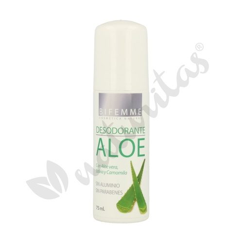 Desodorante Roll-On Aloe Vera 75 ml de Ynsadiet
