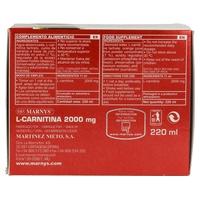 L-Carnitina 20 viales de Marnys