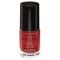 Natural nail polish n ° 03 classic red