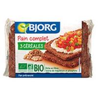 Pan Integral 3 Cereales Bio