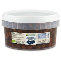 Natural Pitted Black Olives
