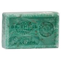 Jabón de Marsella - menta triturada + manteca de karité orgánica