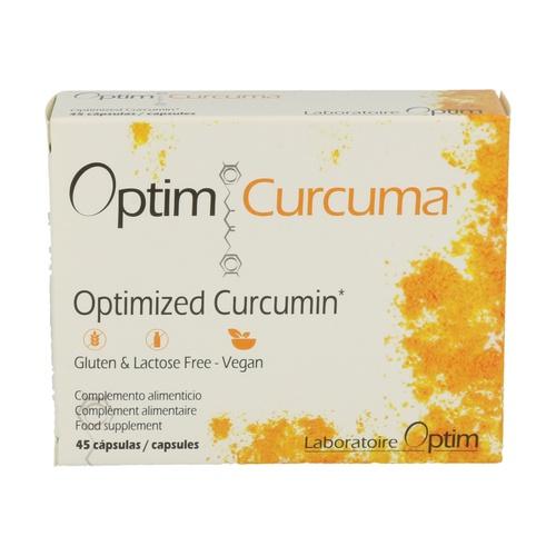 Cápsulas de Optim Curcuma