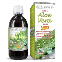 Aloe Vera and Agave juice