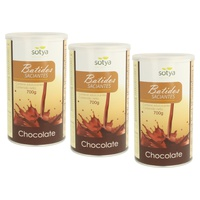 Pack 3x Batido Saciante (Chocolate)