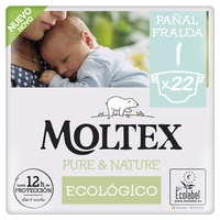 Pieluchy Moltex Pure & Nature T1 (2-5 kg)