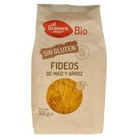 Fideos de Maíz y Arroz Sin Gluten Bio