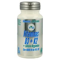 Vitamina D3 K2 y Silicio