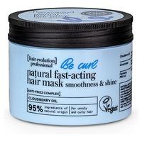 Szybko działająca naturalna maska do włosów zapewnia miękkość i połysk loków
