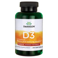 Vitamina D3 Maior Potência 5000 UI
