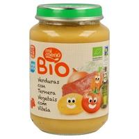 Tarrito de Verduras con Ternera Bio