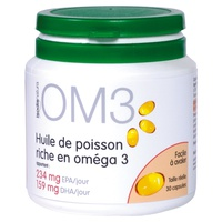 OM3 Fish oil rich in omega 3
