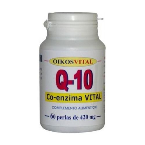 Coenzima Q10 60 perlas de 30 mg de Oikos