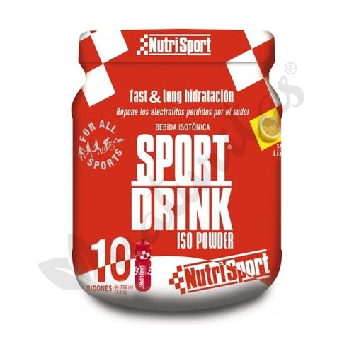 Sport drink powder limón