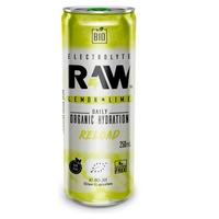 Rafraîchissement sans gaz Raw Super Drink Reload Lemon and Lime Bio