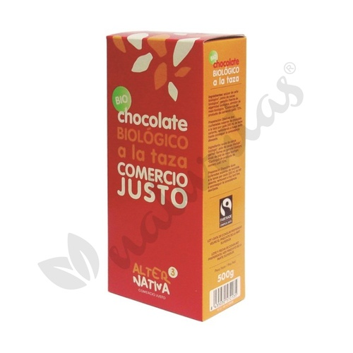 Chocolate a la Taza Bio (Comercio Justo) 350 gr de Alternativa 3
