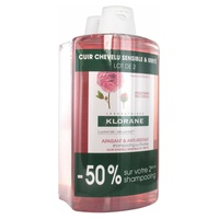 Pack shampooing apaisant pivoine
