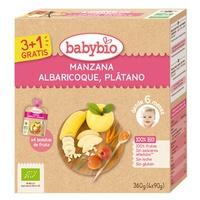 Confezione Mela, Albicocca e Banana Bio 6m +