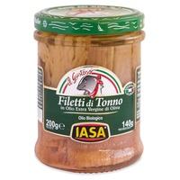 Tuna fillets in extra virgin olive oil