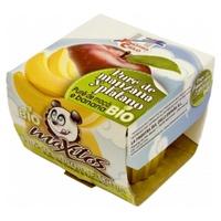 Puré de Manzana y Plátano