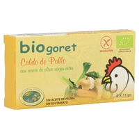 Caldo Vegetal Con Pollo En Cubitos Eco