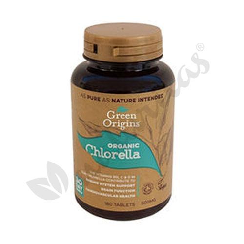 Chlorella Superfood Orgánic 180 Cápsulas de Green Origins