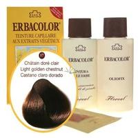 17 Erbacolor marrón dorado claro
