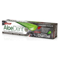 Aloedent Triple Action Toothpaste Activated Charcoal