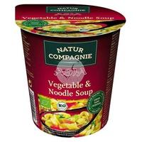 Soupe instantanée aux pâtes et légumes bio Bio