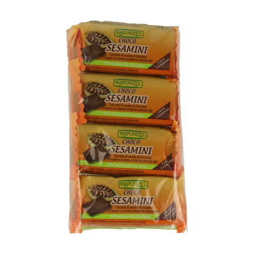 Barritas de sésamo con chocolate