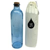 Bouteille d'eau OM bleu