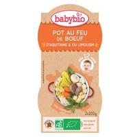 Organiczne Pot Beu Feu Beef Menu (od 12 miesięcy)