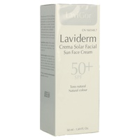 Laviderm Facial SPF50+ con Color