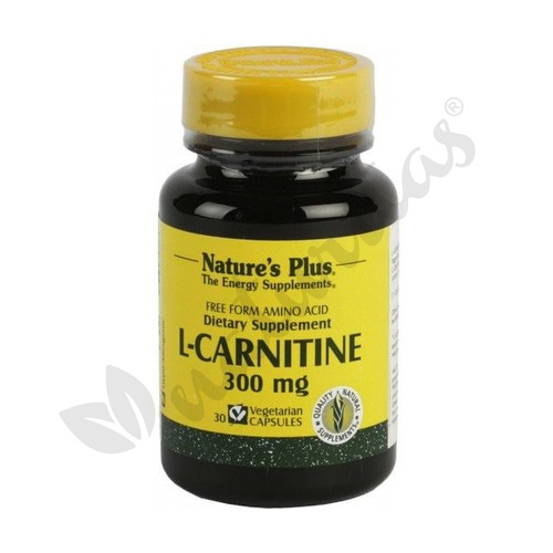 L-Carnitina 30 cápsulas 300 mg de Nature's Plus
