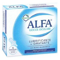 Alfa gotas lubricantes para ojos monodosis