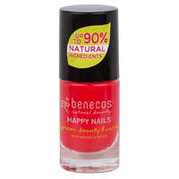 Błyszczący czerwony lakier do paznokci (gorące lato)