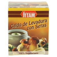 Caldo Vegetal con Boletos