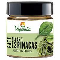 Paté de Algas y Espinacas Bio