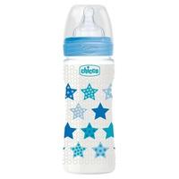 Baby bottle Wellness fast flow for child 330ml 4m +