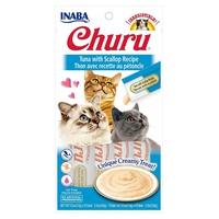 Churu Cream for Cats Thon aux pétoncles