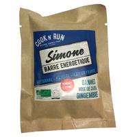 Barre énergétique bio Simone (banane cajou gingembre)