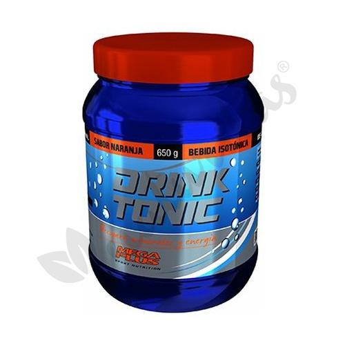 Drink Tonic Isotónica Naranja 650 gramos de Mega Plus