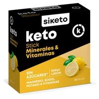 Minerales y Vitaminas Keto Sin Azúcares