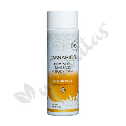 Aceite Masaje X-Oil Lemon Plus 100 ml de Cannabios